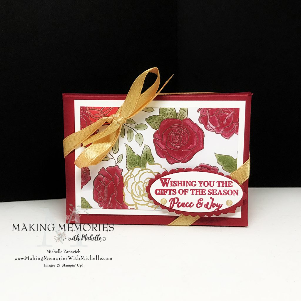 Making Memories with Michelle Gift Card Box