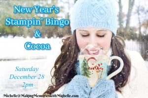 Making Memories with Michelle Stampin' Bingo