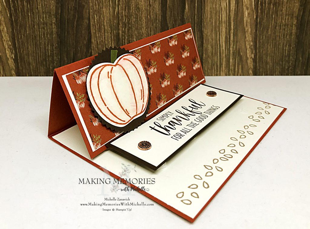 Making Memories with Michelle Easel Card