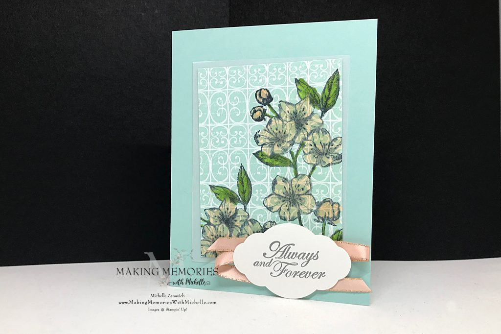 Making Memories with Michelle Parisian Blossoms
