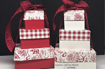 Making Memories with Michelle Trio of Boxes