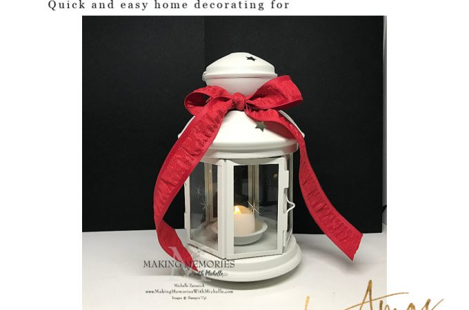 Making Memories with Michelle Holiday Decor