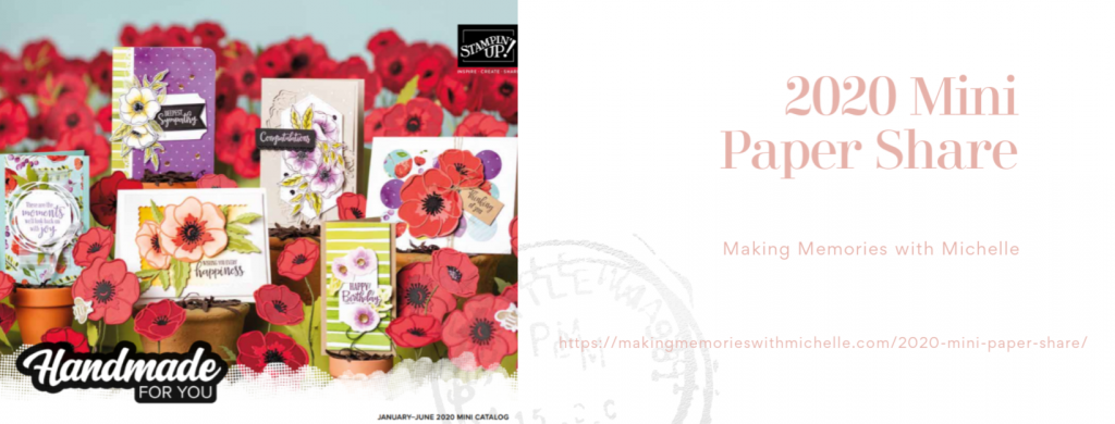 Making Memories with Michelle 2020 Paper Share Mini