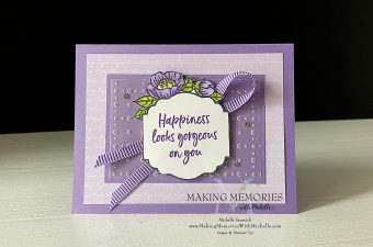 Making Memories with Michelle Tags in Bloom