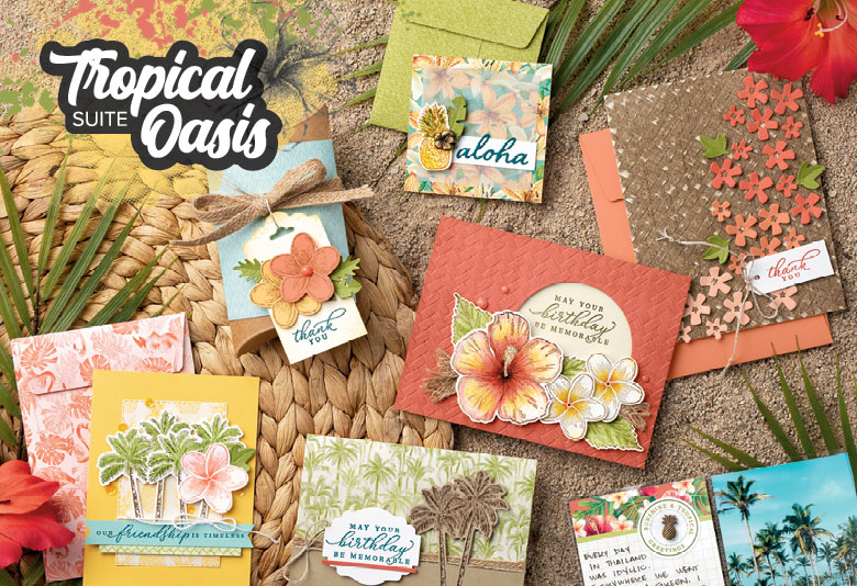 Making Memories with Michelle Tropical Oasis