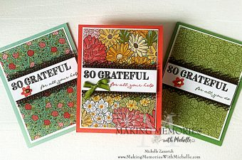 Making Memories with Michelle Ornate Garden