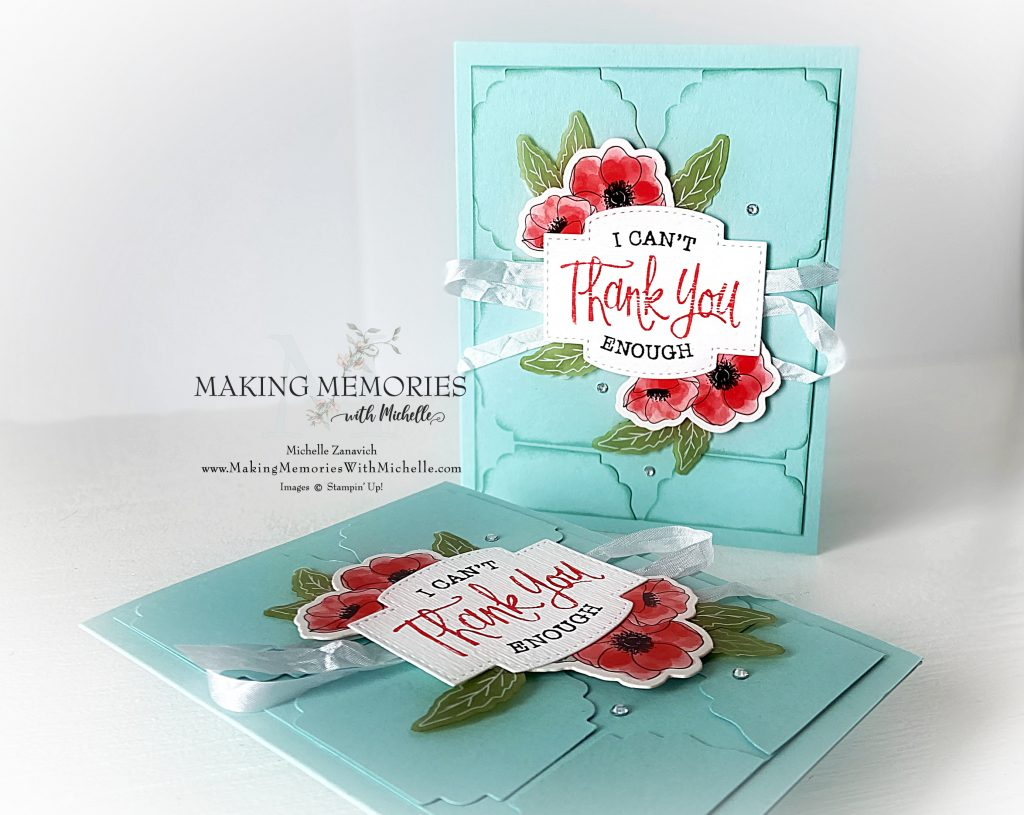 Making Memories with Michelle Poppies