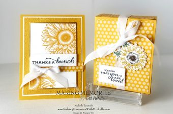 Making Memories with Michelle Sunflowers