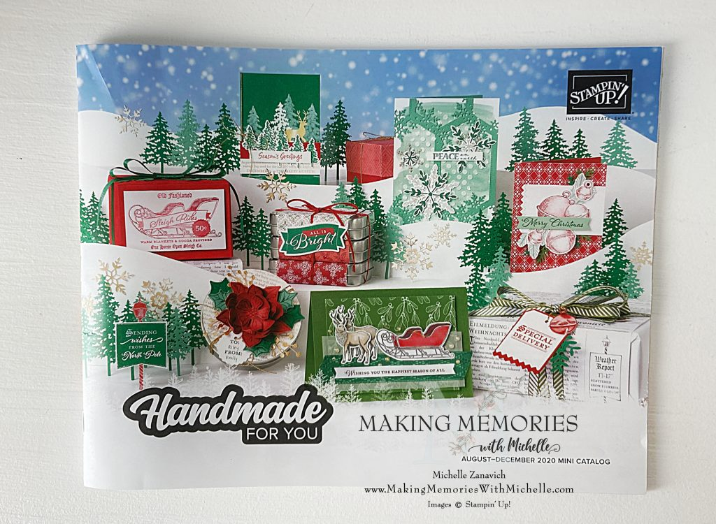 Making Memories with Michelle Holiday catalog